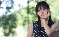 成都市新都第一中学校美女校花莫兰萍写真图片