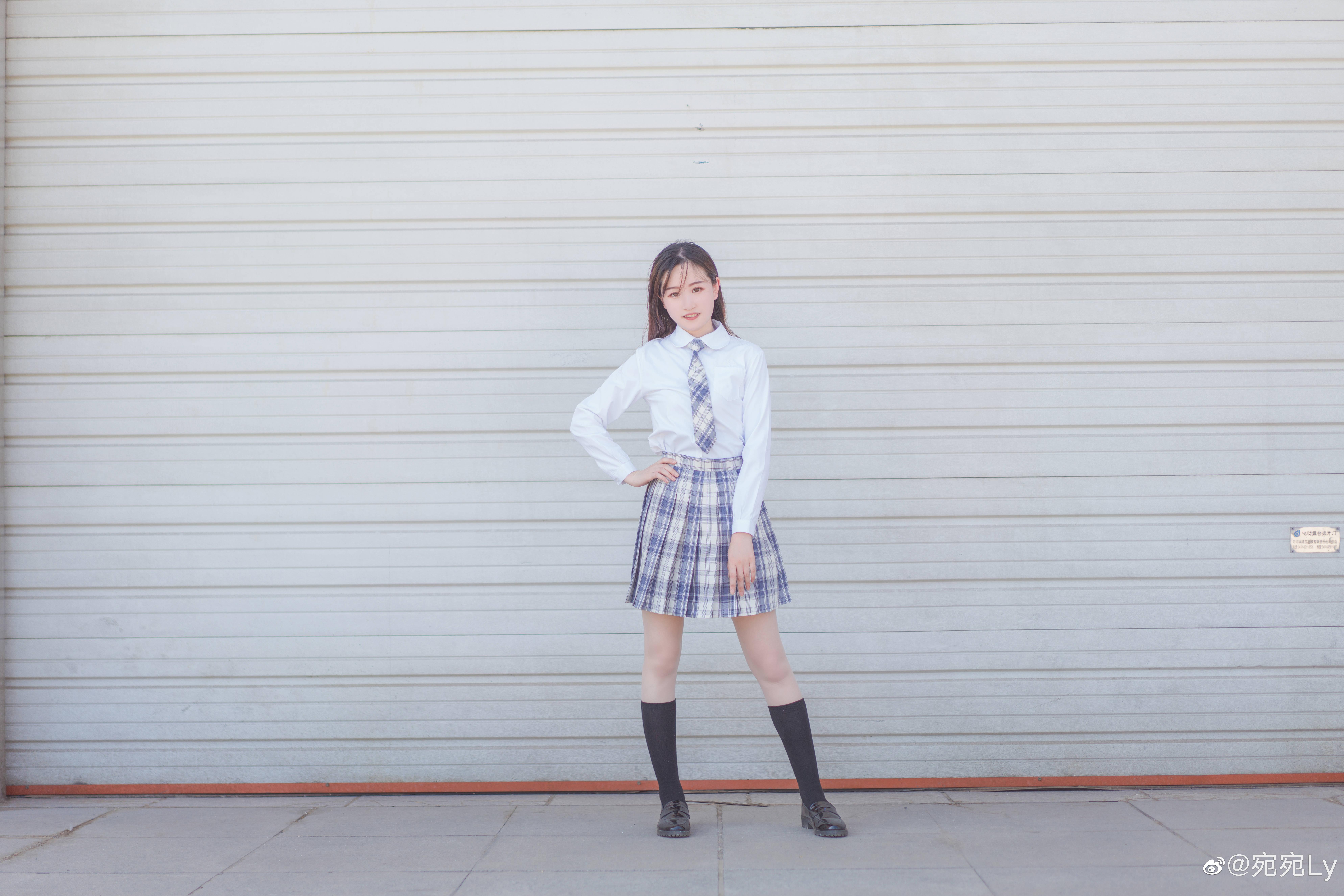 [JK写真]好想看你穿jk的样子 @宛宛Ly 时尚-第2张