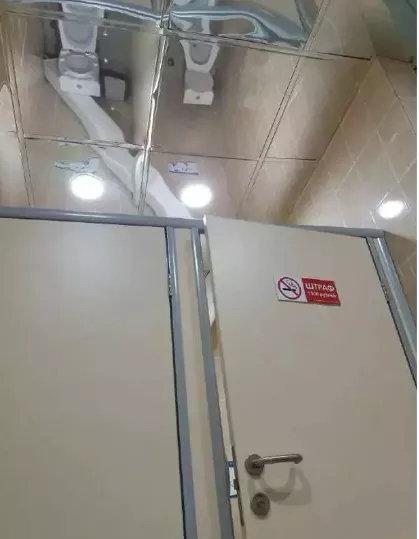 这个设计的理念是为了确定里面的人是不是真的在上厕所 第1张