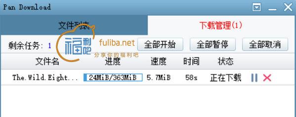 超好用的百度网盘下载工具PanDownload