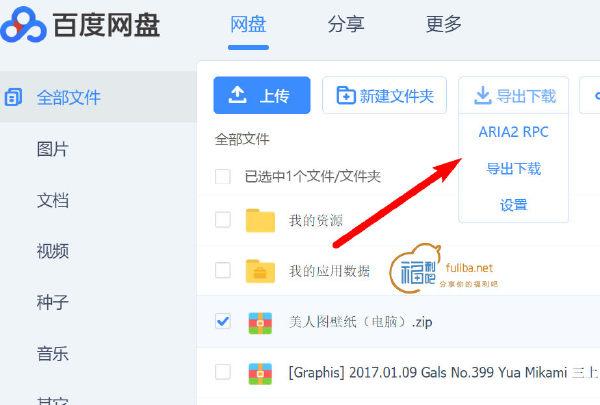 aria2下载百度网盘傻瓜化使用教程