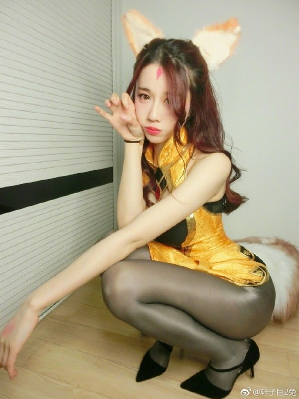 今日妹(sao)子(huo)微博红人:轩子巨2兔