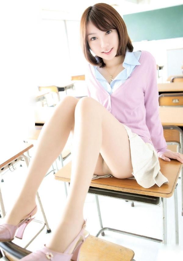 模特教师系列写真