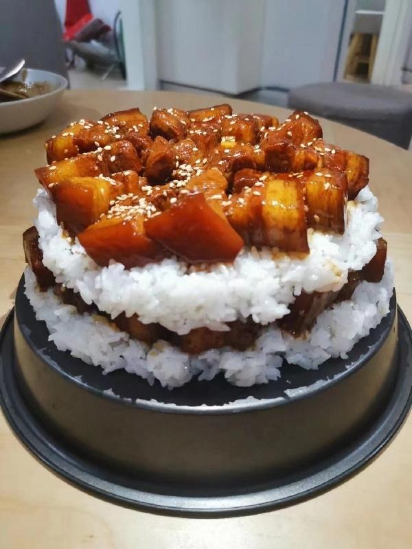 一个吃货的生日蛋糕
