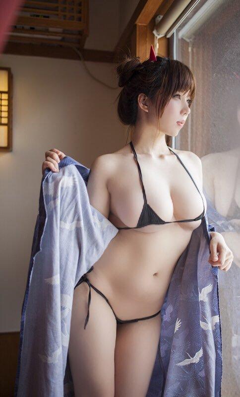 【内涵GIF第224期】ID-044 早乙女ゆい双马尾内涵图