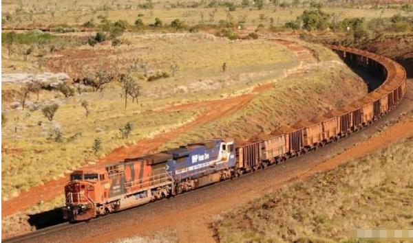 世界上最长的火车:必和必拓火车长达7300米