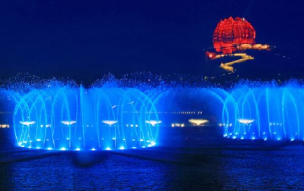 中国十大最美音乐喷泉排行榜:青岛世园会音乐喷泉融入中国元素