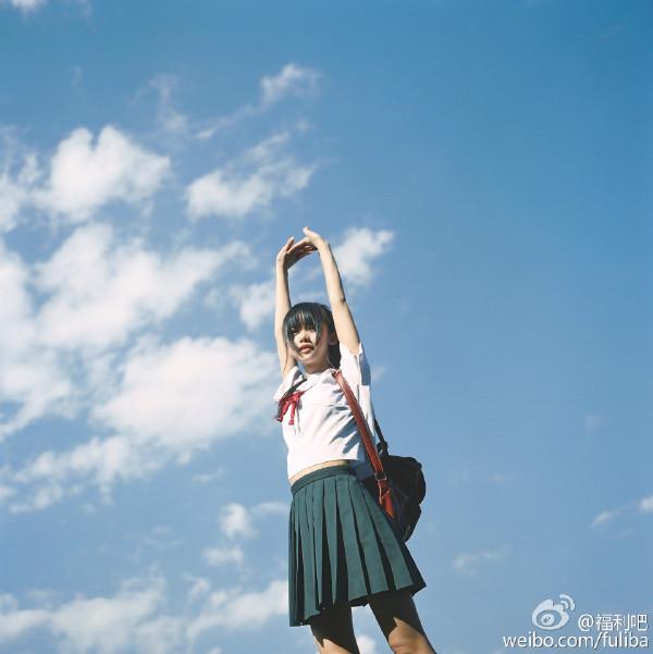网易小清新日系摄影:放学后の校服装