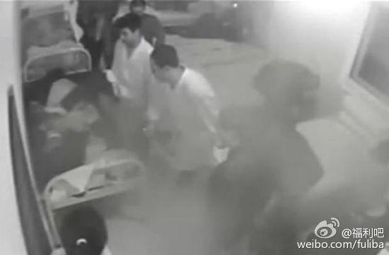 沈阳男护士殴打病人的视频