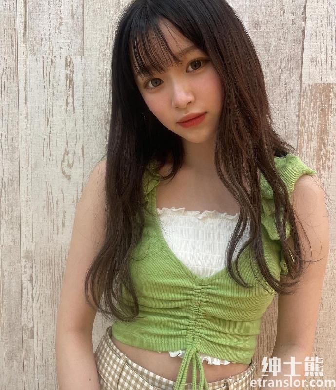 2005 年出生清新美少女平野梦来首度放风饱满雪乳吸万粉 网络美女 第2张