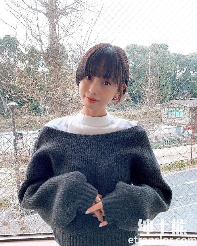 清纯短发美少女东口优希温暖气质疗愈人心 网络美女 第35张