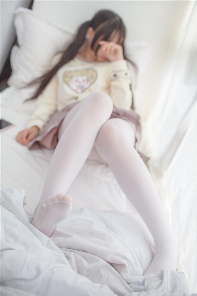 少女秩序会害羞的小姐姐白丝袜写真图集 少女秩序
