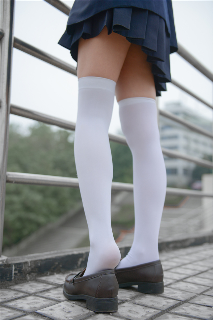 少女秩序JK制服系列白丝袜写真图集 少女秩序