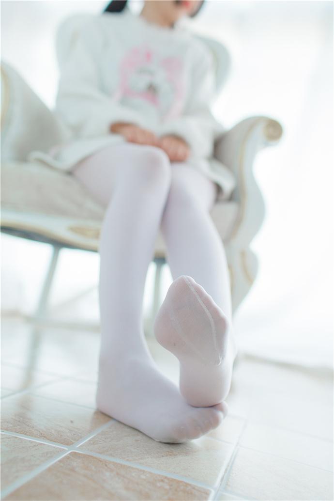 少女秩序纯色白丝袜写真图集 少女秩序