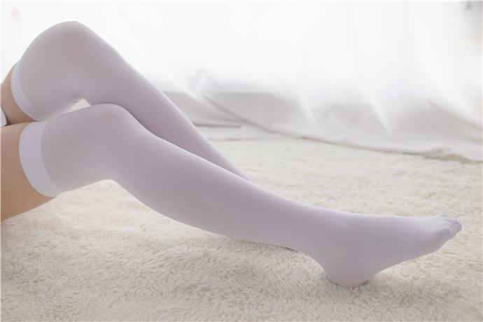 喵写真-双马尾白丝美腿小姐姐 喵写真