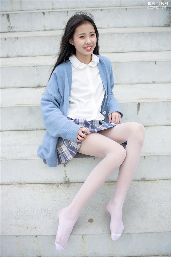 【森罗财团】JKFUN-003.白丝少女福利写真 森罗财团