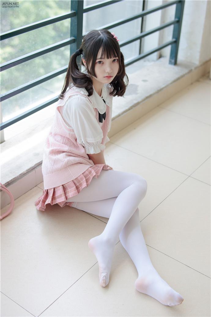 【森罗财团】JKFUN-007.白丝小姐姐可爱多写真 森罗财团