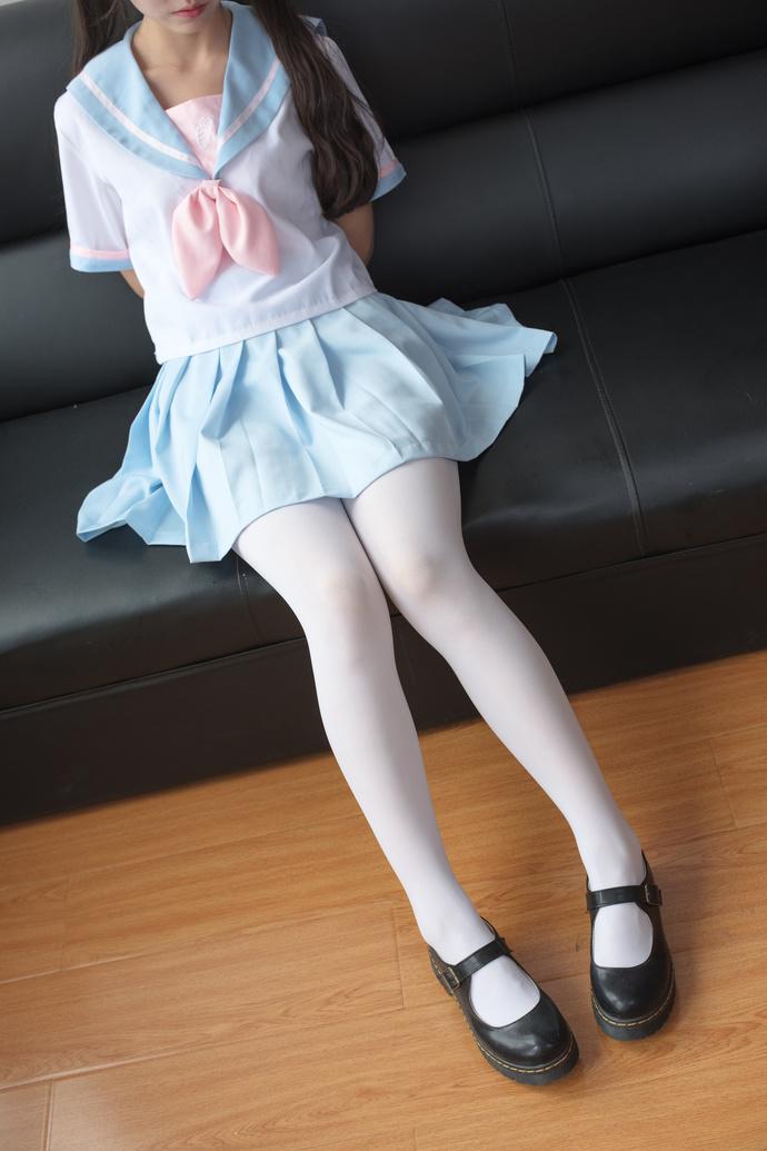 jianzhide.com_萌妹社_天蓝色白丝小姐姐 清纯一区