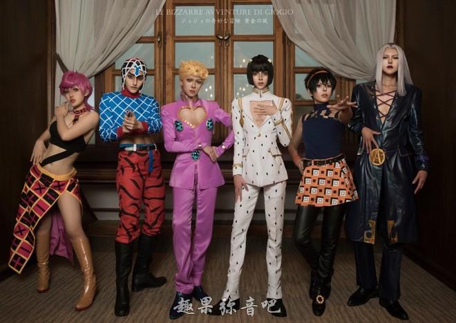 《JOJO的奇妙冒险;黄金之风》cosplay