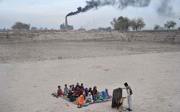 阿富汗的一所学校