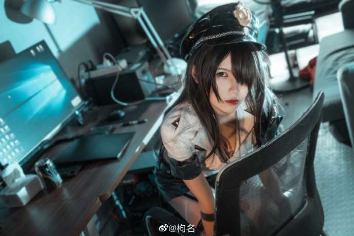 今日妹子图@枸名 二次元cosplay妹子