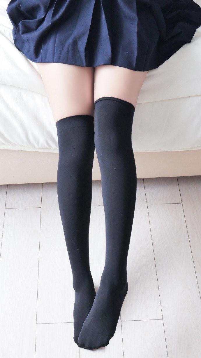 黑白袜裤图 福利吧 第5张