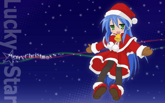 圣诞节快乐,二次元圣诞主题美图 福利吧 第4张