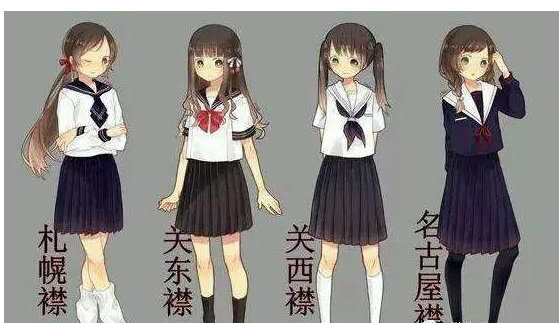 jk制服是什么意思?jk制服图片 女子高中生校服大赏 网络流行语 热图1