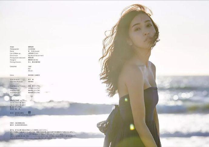 前AKB48的日本女团美女板野友美最好看的性感写真(Wanderer),福西菜月