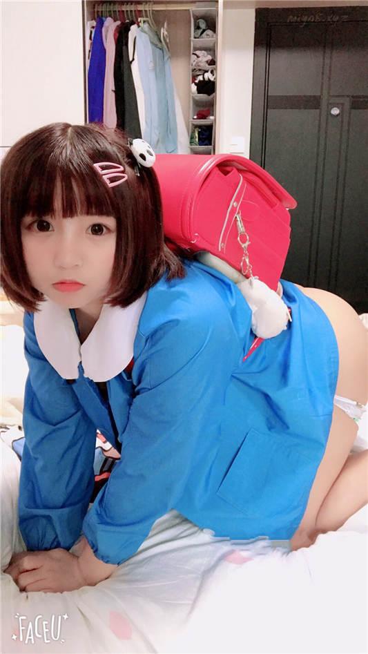 网红妹子@音波酱拌饭-VIP视图-小丸子幼稚园生日特惠[58P/2V/98MB]