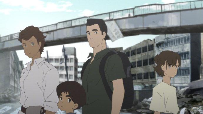 Netflix出品:汤浅政明导演新作《日本沉没2020》