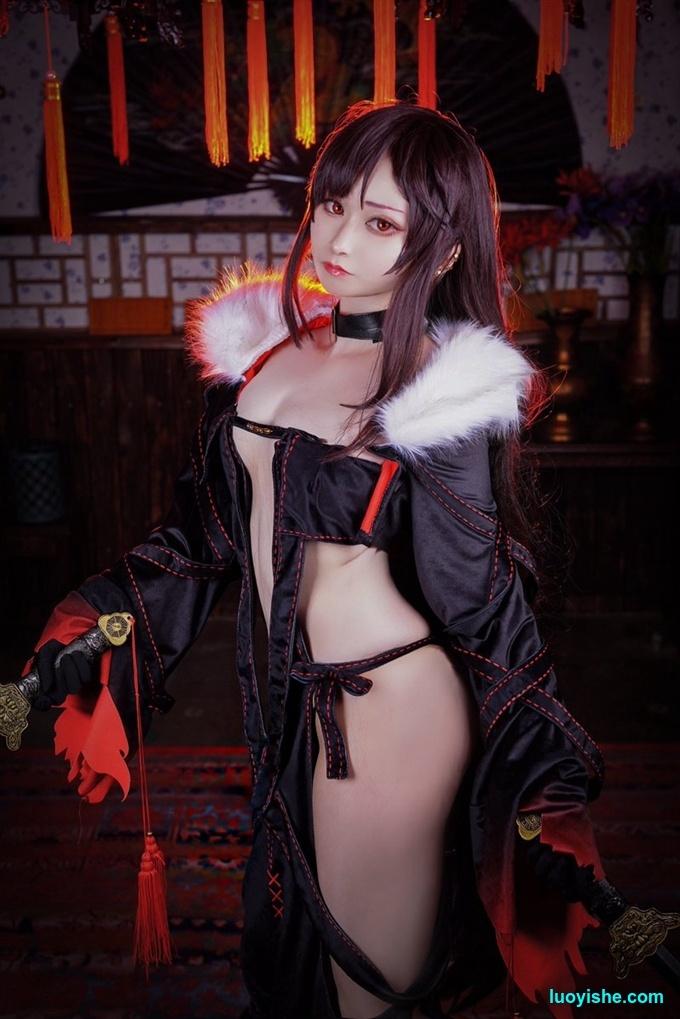 日本超可爱小美女妃奈梨的气质cos照片合集
