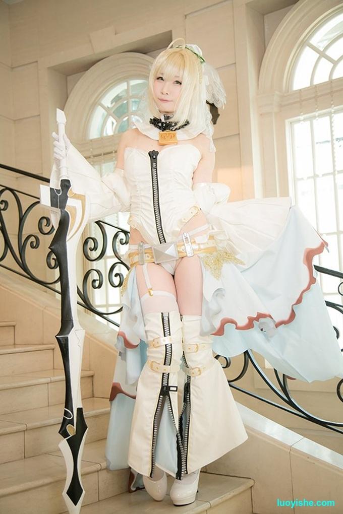 日本超口工御姐coser完美演绎波涛胸涌的库巴姬