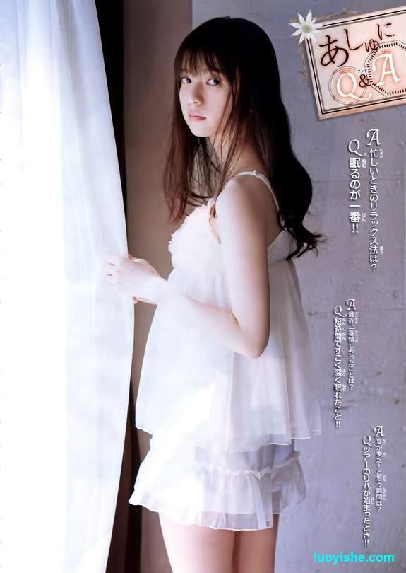 日本最小脸美女偶像斋藤飞鸟写真美图大放送
