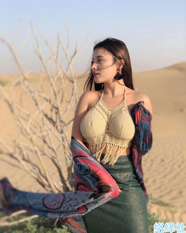 肉弹型人间胸器,菲律宾混血美女网红Mar anne Almosa