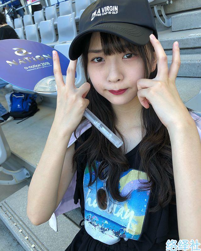 身材高挑脸蛋可爱的日本新晋偶像「三品瑠香」