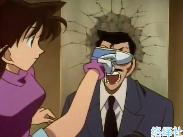 名侦探柯南小兰破坏物品大全,果然生气的女人惹不得!