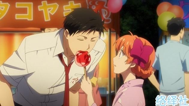 单身狗回避!七夕盘点日本动漫里甜到腻的小情侣。