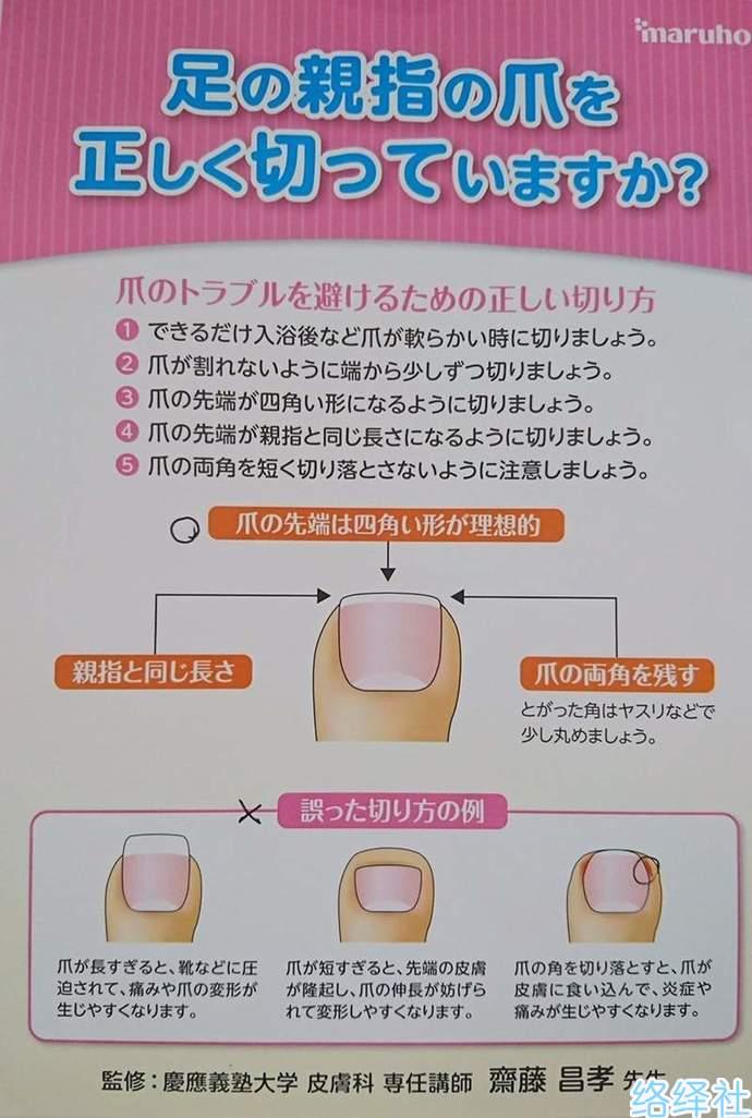 医生分享脚指甲的正确剪法,能预防甲沟炎!