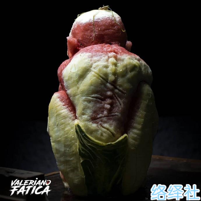 化腐朽为神奇,超逼真的西瓜雕刻艺术品