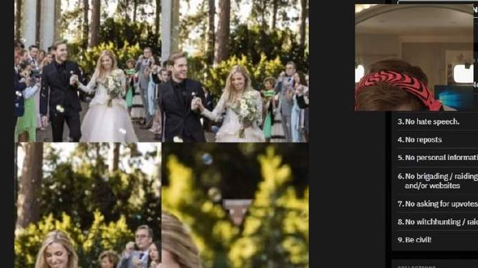 PewDiePie油管订阅人数超一亿,新婚后开启蜜月之旅