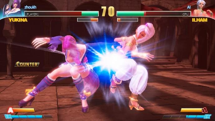 捏脸爆衣!十八禁美女格斗游戏《Fight Angel》上架Steam