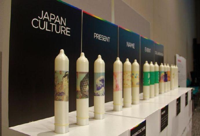 冈本推出浮世绘风格的安全套迎接2020年日本东京奥运会!