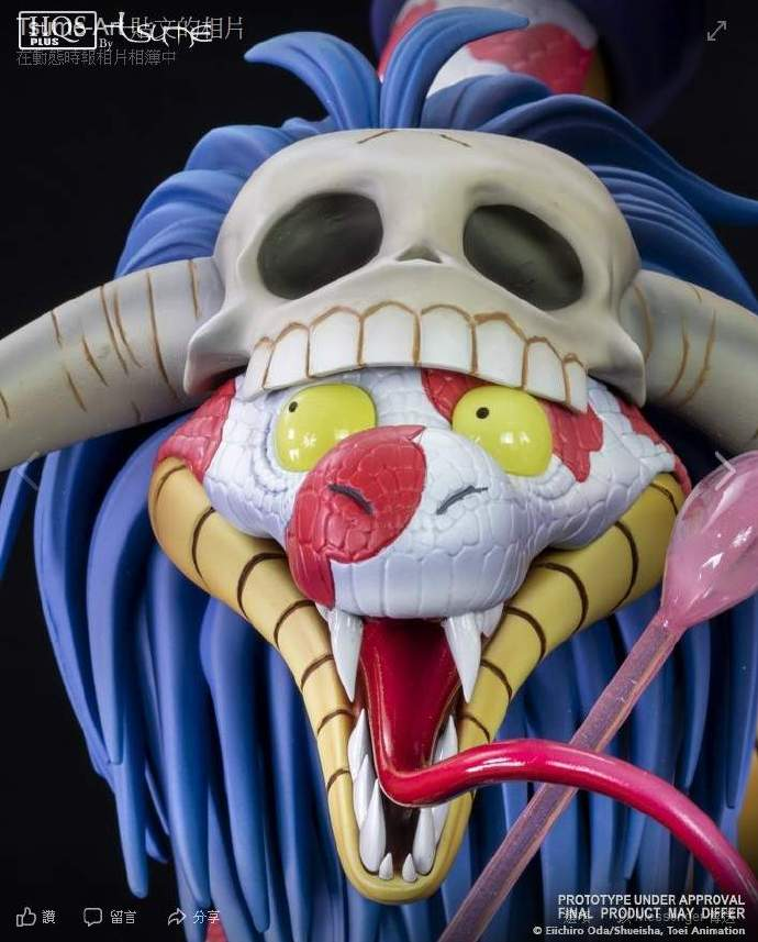 Tsume-Art海贼王系列推出女帝手办模型,要被蛇姬石化啦!