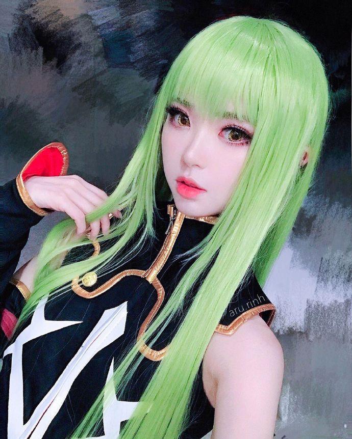 鬼灭之刃cosplay合集,恋柱「甘露寺蜜璃」和祢豆子