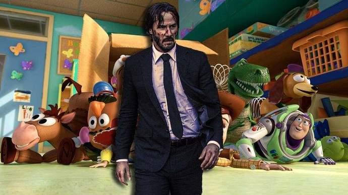 《玩具总动员4》全新角色 基努里维斯变化5cm娇小角色