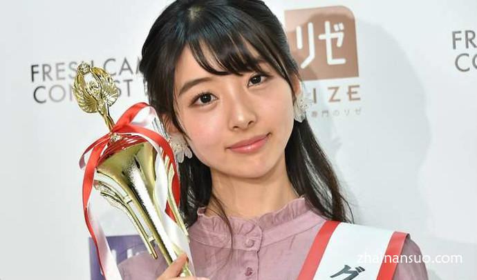 2018校园美女最可爱大一生 日本同志社大学美女永松野野花夺冠