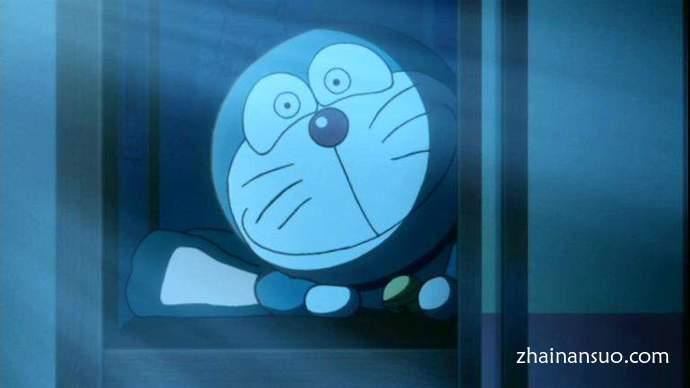 """哆啦A梦""""温暖的眼神"""" """"温かい目""""眼神看了让人发寒"""