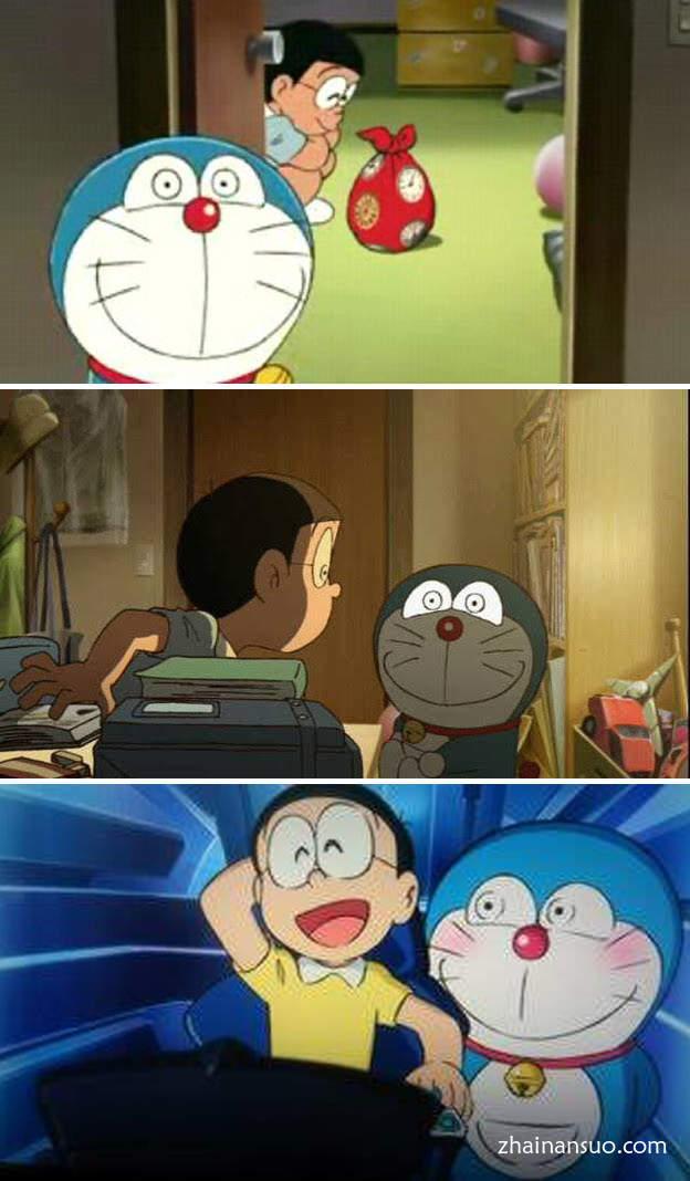 """哆啦A梦""""温暖的眼神"""" """"温かい目""""眼神看了让人发寒-宅男说"""
