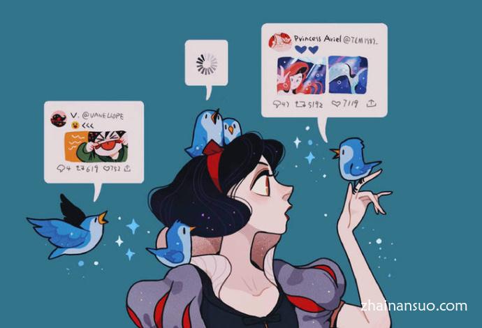 《无敌破坏王2:大闹互联网》二创绘图 唯美的画风赏心悦目
